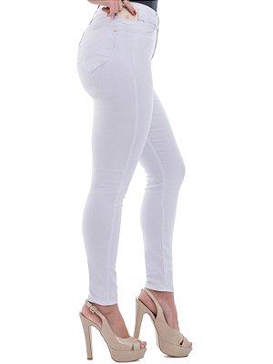 calça sarja prs skinny branca