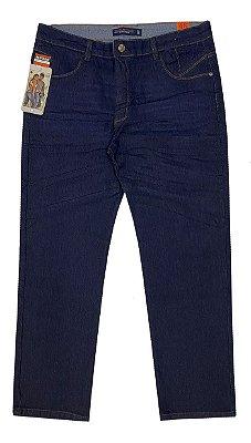 calça jeans plus bolso celular prs escura