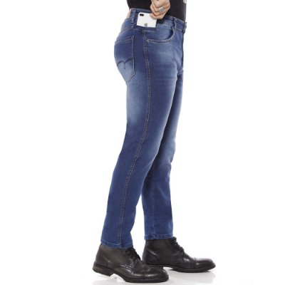 calça jeans prs comfort bordado