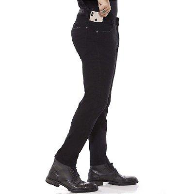 calça jeans prs skinny preta