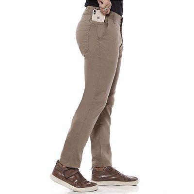 Calça sarja skinny prs marrom
