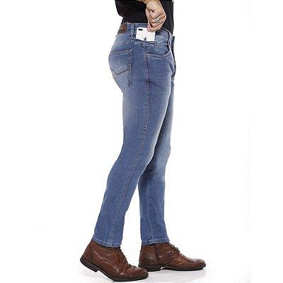 calça jeans prs skinny sky