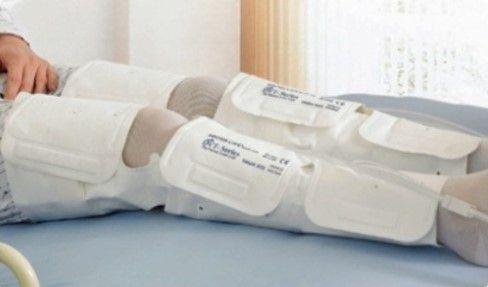 Bota para Compressor Pneumático Doctor Life DVT 2600 - Coxas + Panturrilha + Tornozelo