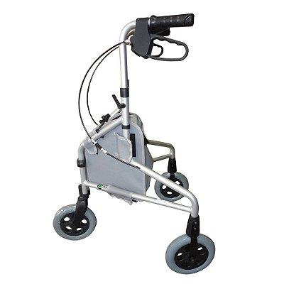 Andador Ortopédico para Idosos 3 Rodas Comfort SL-309