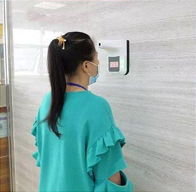 Termômetro Infravermelho Automático de Parede e Pedestal