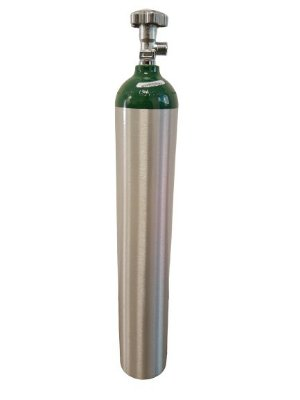 Cilindro de Oxigênio 5 Litros Alumínio