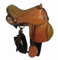 Sela Australiana Infantil Para Ponei ou Cavalo Adulto