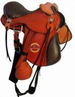 Sela Australiana Infantil com Cabeça - Para Ponei ou Cavalo Adulto