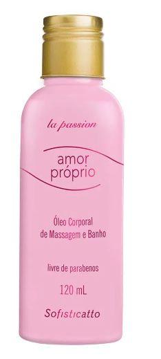 Óleo Corporal para Massagem e Banho Amor Próprio