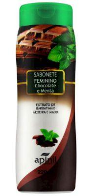 Sabonete Feminino Chocolate e Menta