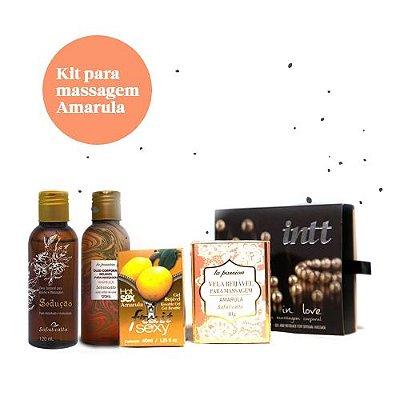 Kit para Massagem Amarula (5 itens)