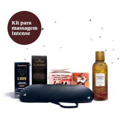 Kit para Massagem Intense (6 itens)