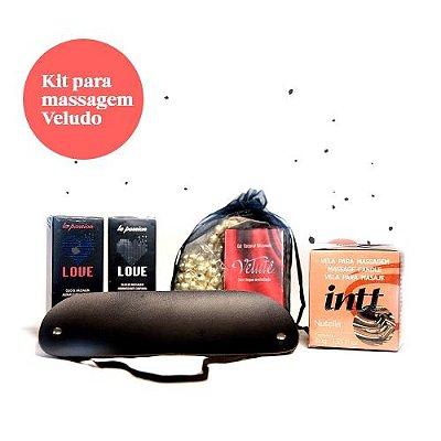 Kit para Massagem Velutê (6 itens)