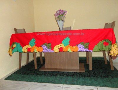 Toalha Tropical - Retangular 2,20 x 1,60