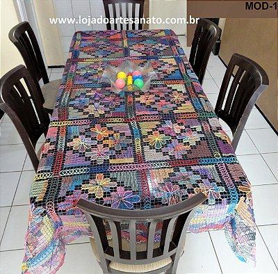 Toalha de Mesa em Renda Filé - Retangular 2,70 x 1,70