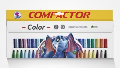 COMPACTOR COLOR 24 CORES