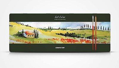 Art Color - Lápis de Cor Aquarelado 48 cores