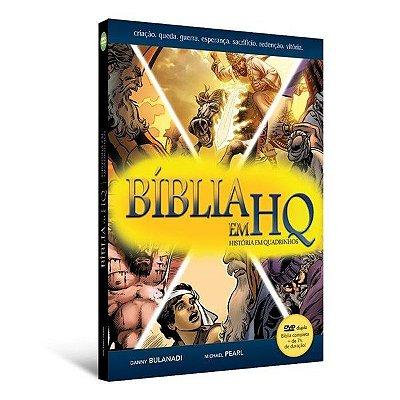 Bíblia em HQ com DVD duplo