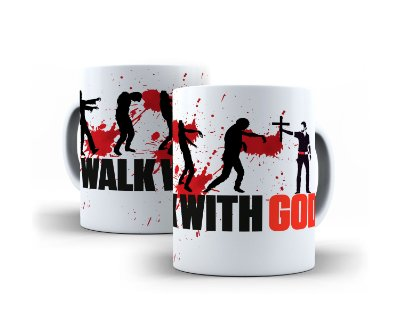 Caneca Walk With God
