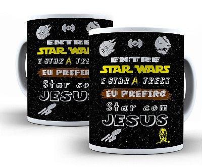 Caneca Star Com Jesus