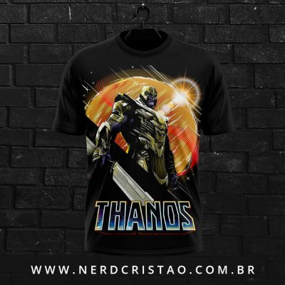Camisa Thanos