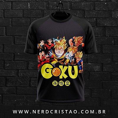 Camisa Evolução Goku
