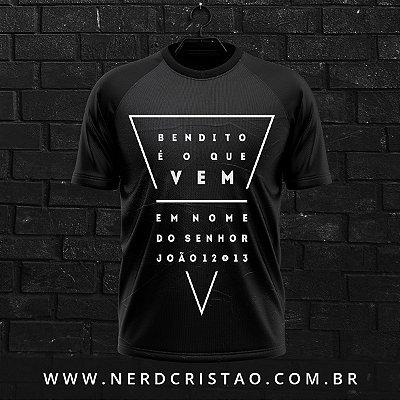 Camisa João 12:13