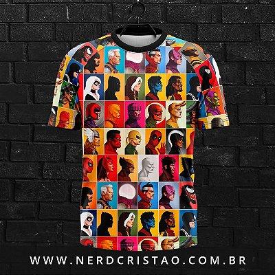 Camisa Super-Hérois