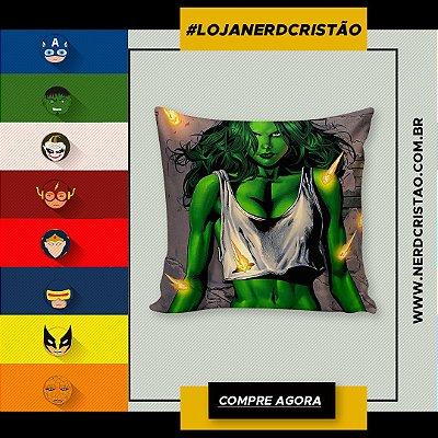 Almofada Mulher Hulk