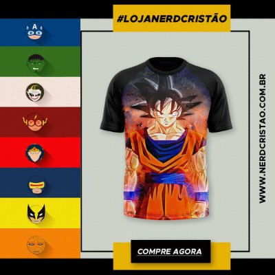 Camisa Goku