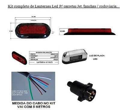 Kit elétrico LED
