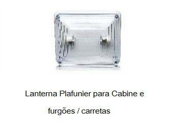Lanterna Teto Plafonier Quadrada Cristal
