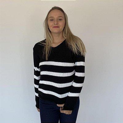 Blusa Tricot Básica Fashion