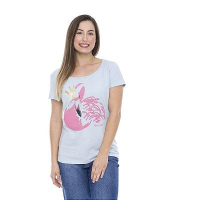 Blusa Verão Feminina Estampada Cisne