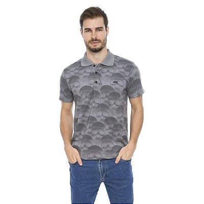 Camisa Pólo Masculina Caveiras