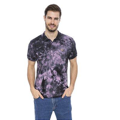 Camisa Pólo Masculina Tie Dye