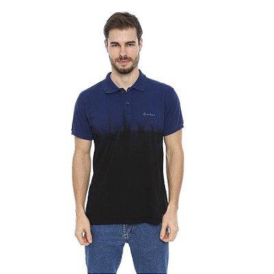 Camisa Pólo Masculina Tie Dye Inferior