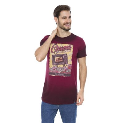Camiseta Verão Slim Long Movie