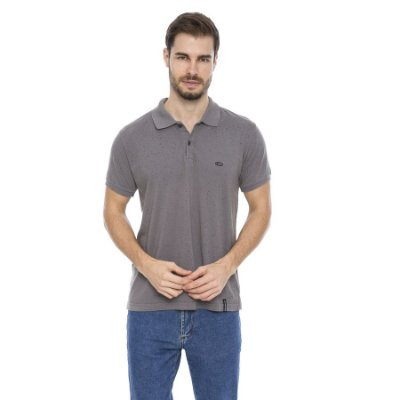 Camisa Pólo Masculina Respingos Total