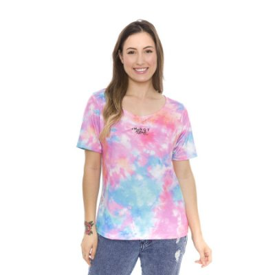 Blusa Tie Dye Estampa I'm Not Alone