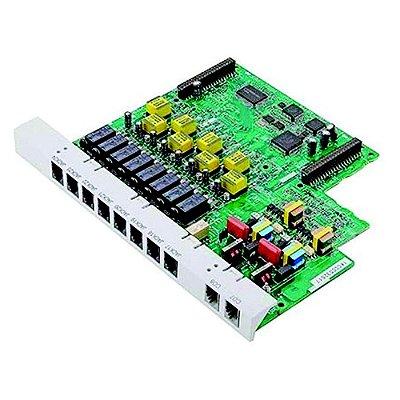 Placa de Expansão 2 Linhas e 8 Ramais KX-TE82480 - Pabx Panasonic KX-TES32BR