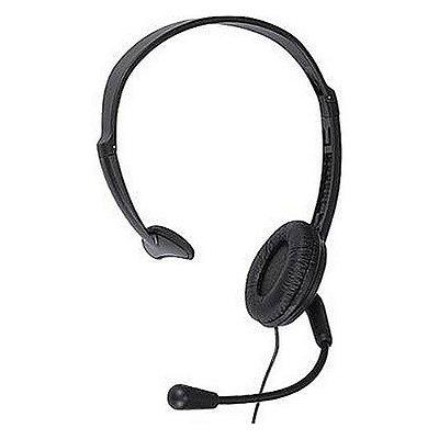 Fone de cabeça Headset MAXTEL KX-TCA 400 para Telemarketing