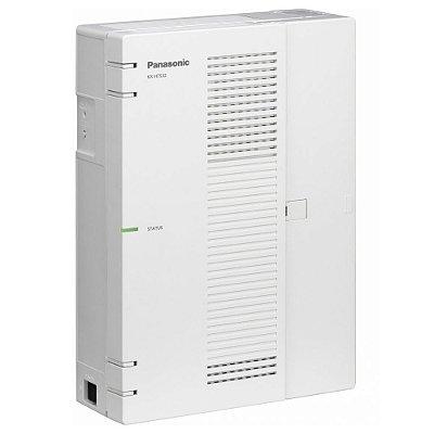 Central PABX IP Panasonic KX-HTS-32 com 04 troncos, 08 ramais analógicos e 16 ramais IP