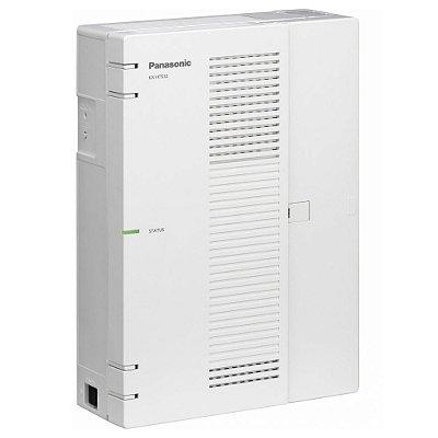 Central PABX IP Panasonic KX-HTS-32 com 08 Troncos Analógicos, 16 Ramais Analógicos e 08 Ramais SIP