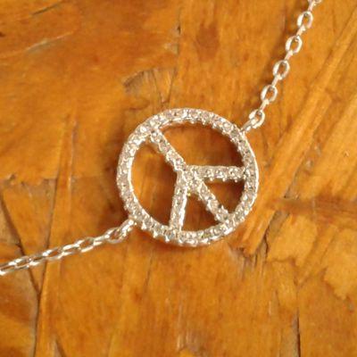 Pulseira paz e amor