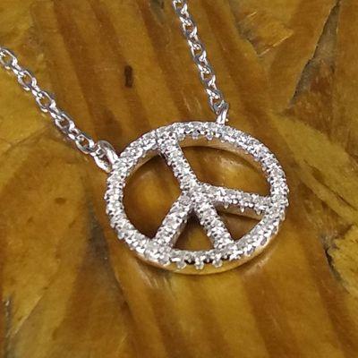 Colar Paz e Amor