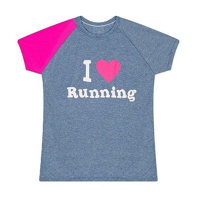 Camiseta Feminina I Love Running