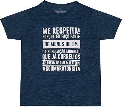 Camiseta Masculina Me Respeita