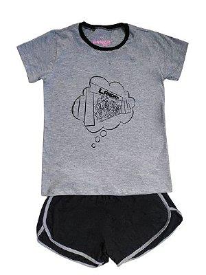 Pijama Feminino Runner