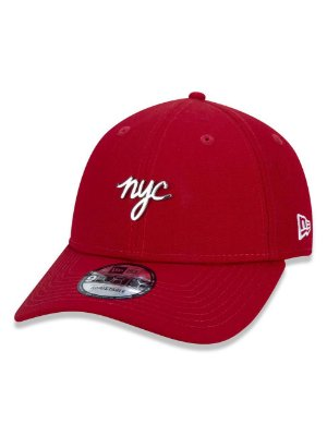 BONE NEW ERA ORIGINAL 940  SN METAL BADGE  NYC RED NEP20BON009